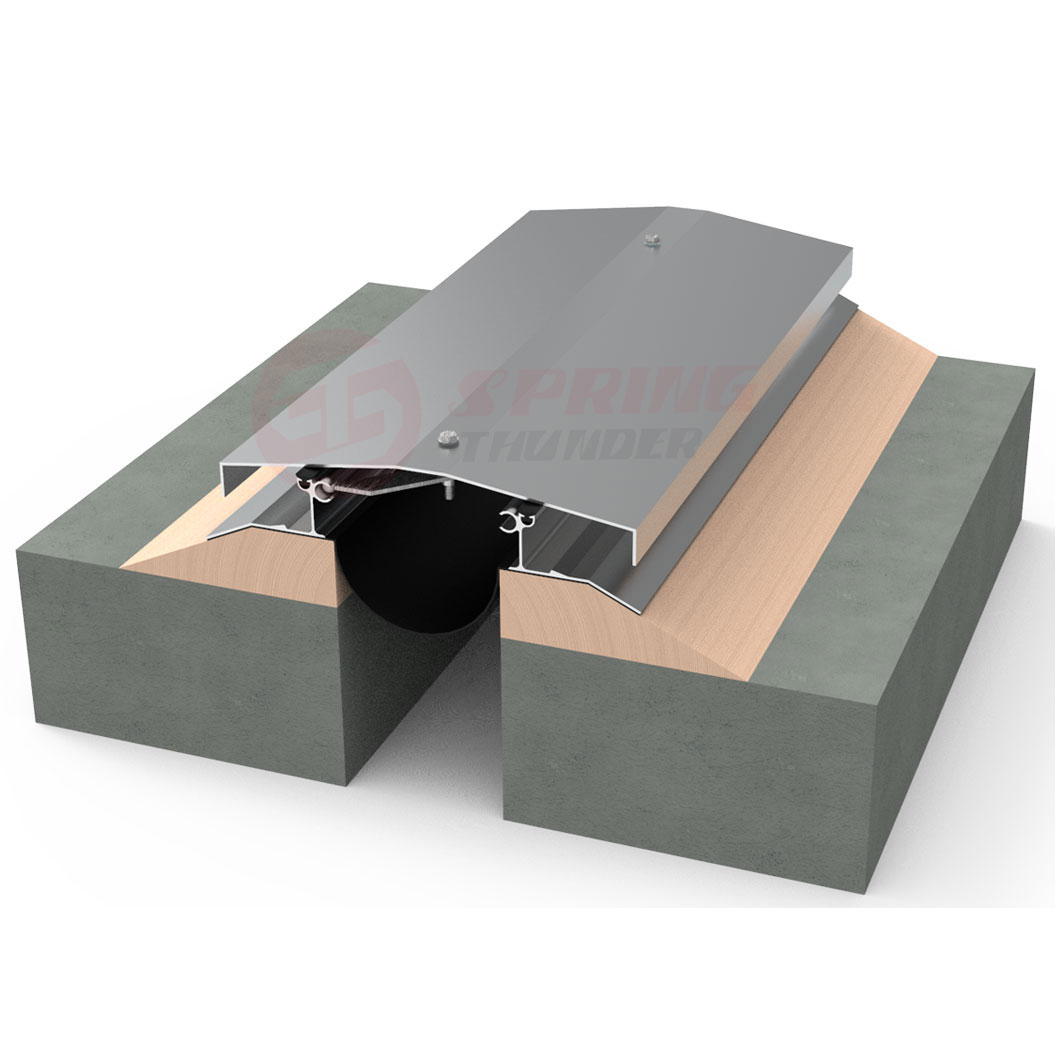 Seismic Aluminum Roof Expansion Joint Cover Rmf