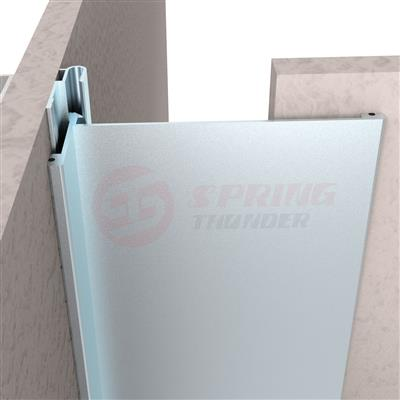 Extruded Interior Aluminum Wall To Corner Expansion Joint Covers