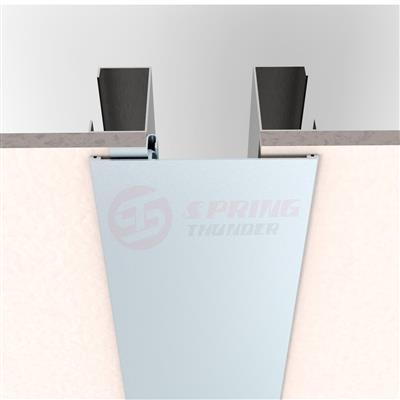 Extruded Interior Aluminum Wall To Wall Expansion Joint Covers