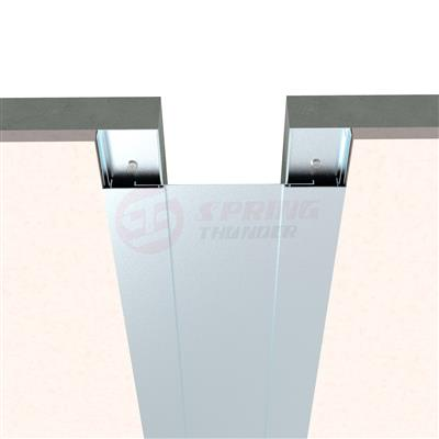 Flush Aluminum Wall Expansion Joint 1