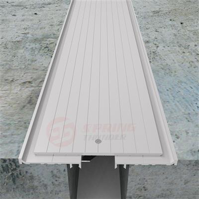Parking Garage Heavy Duty Floor Expansion Joint Cover FDM