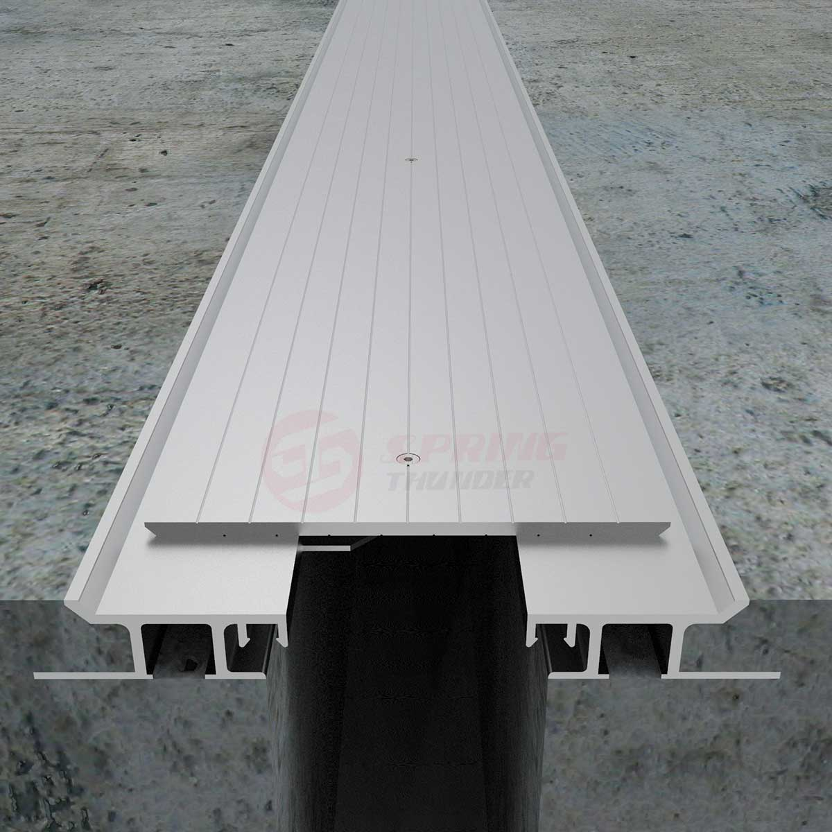 Parking Garage Expansion Joint Cover