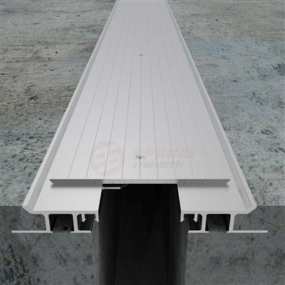 Heavy Duty Parking Garage Expansion Joint Cover 1
