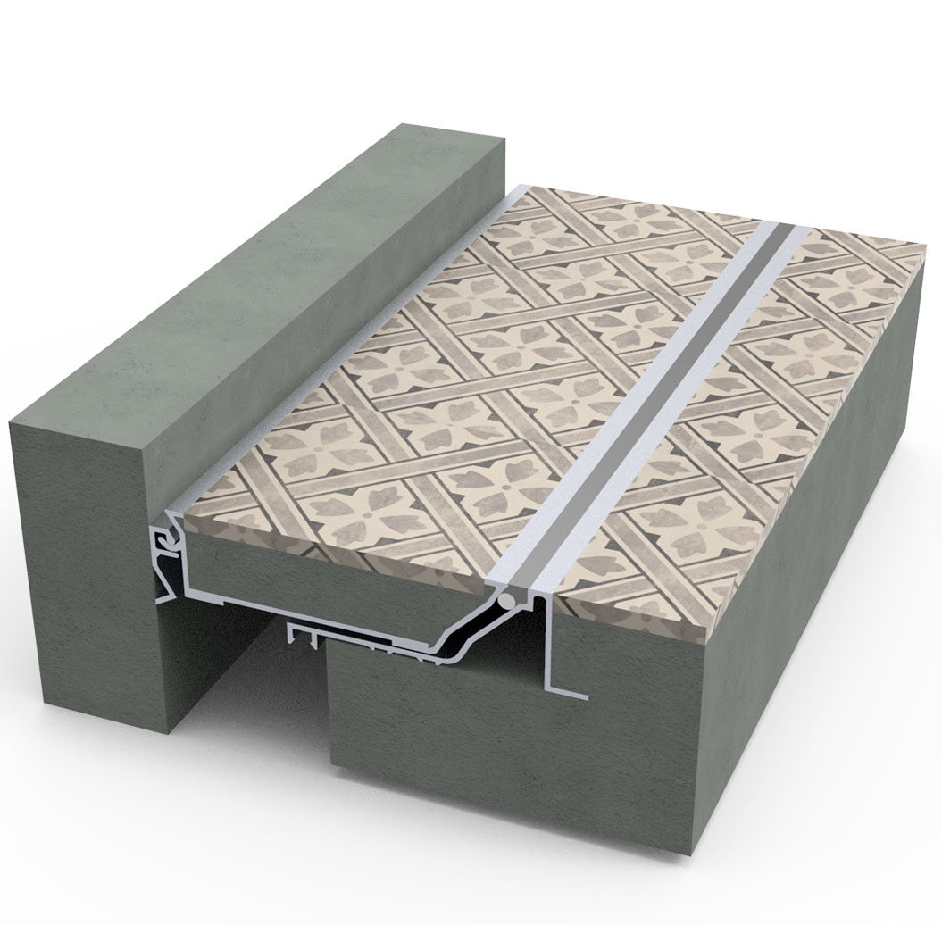 Deep Finish Seismic Floor Expansion Joint Cover Seismic