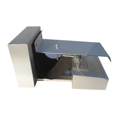 Seismic aluminum roof expansion joint cover rmf for Exterior expansion joint covers