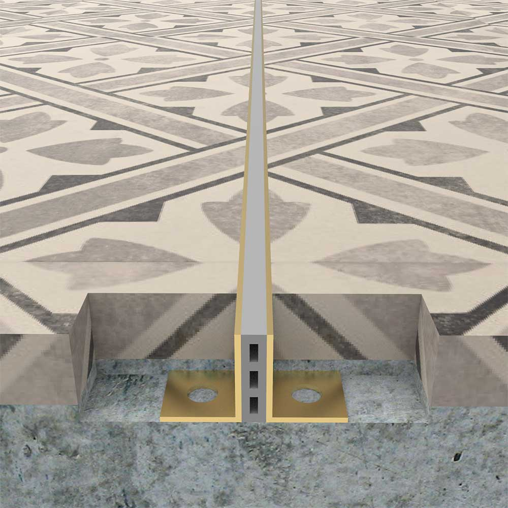 Stainless Steel Tile Movement Joint Ss Tile Expansion Joint